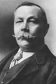 Sir Arthur Conan Doyle (1859--1930): creator of Sherlock Holmes...and a believer in fairies and ghosts.