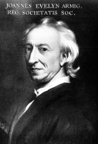 John Evelyn (1620--1706) : Garden Designer, Diarist, and Man-About-Town.