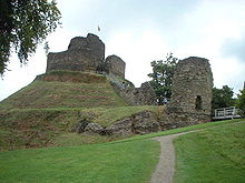 A typical Motte-and-Bailey Castle