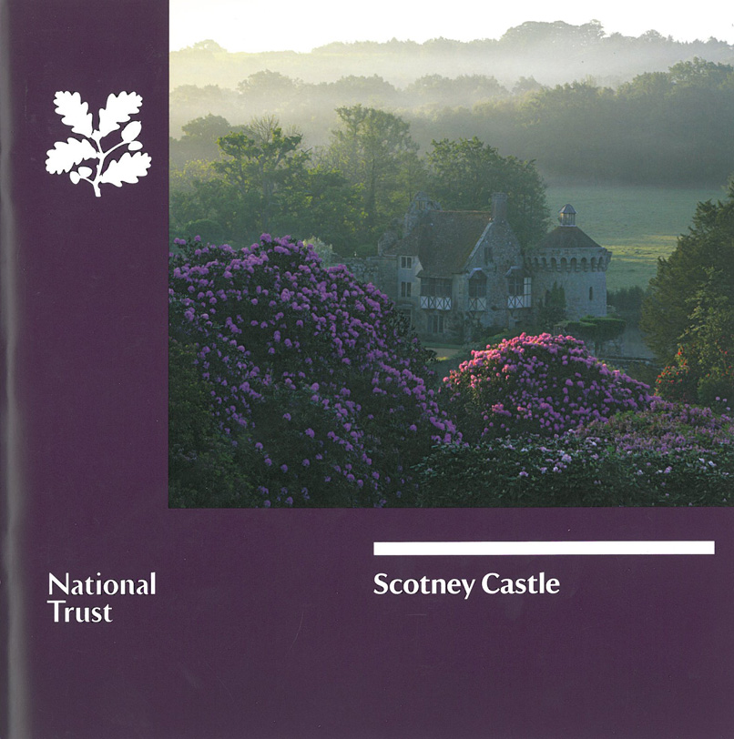 Scotney Castle: a country house, romantic garden, and 14th century moated castle, on 770 acres of beautiful parkland, in Kent. My visit at mid-day on August 6th merely whetted my appetite. This is a place to which I shall certainly return. Image courtesy of The National Trust.