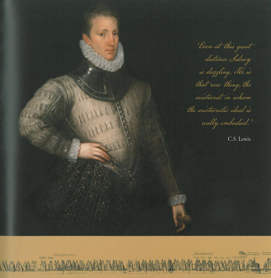 Sir Philip Sidney (1554--1586) was born at Penshurst Place. Image courtesy of Penshurst Place.