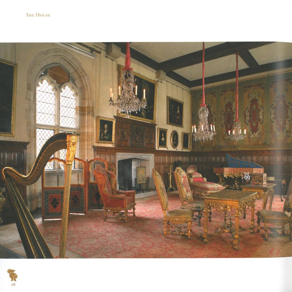 The Queen Elizabeth Room. Image courtesy of Penshurst Place.