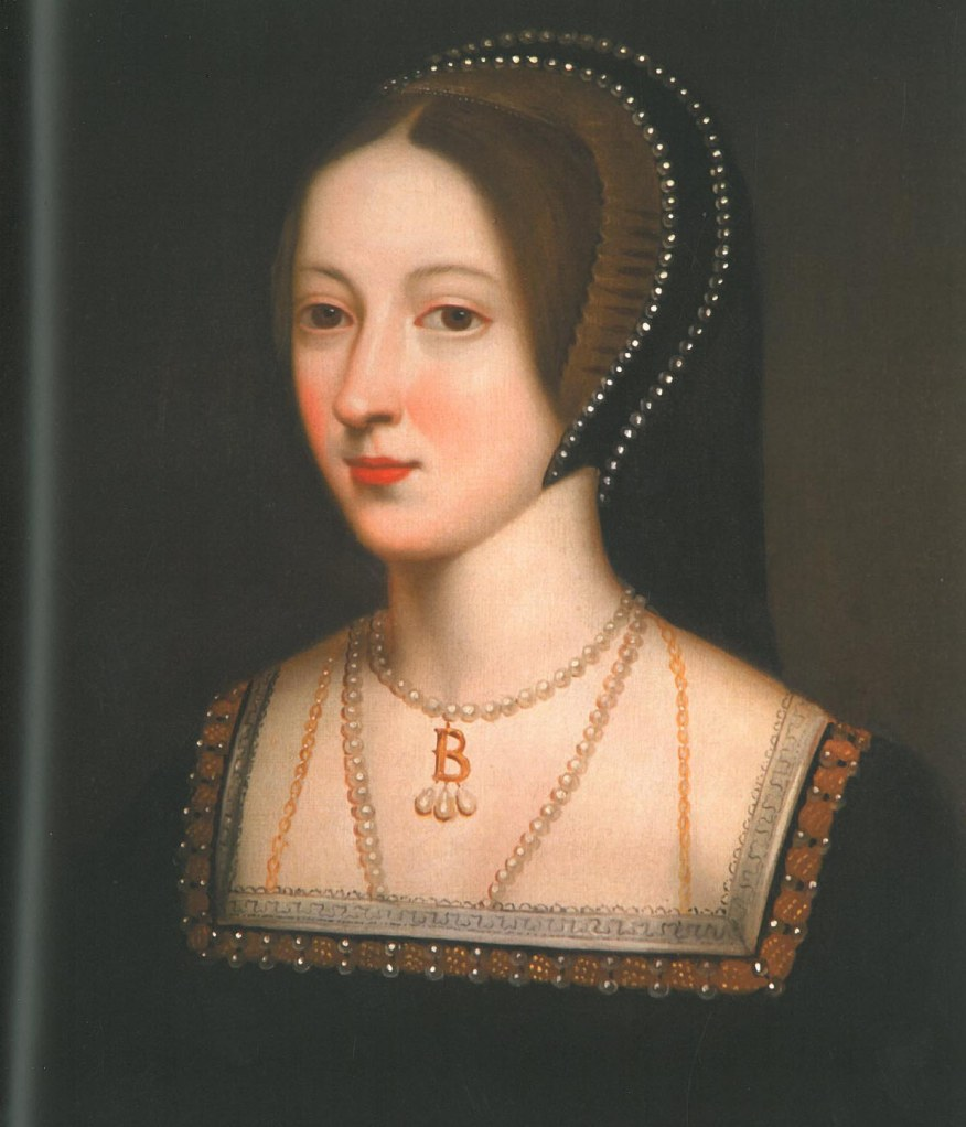 Anne Boleyn, before Henry VIII's false charges (I mean, really: incest?? witchcraft???...Anne was too smart to have indulged in either!) deprived her of her head. Image courtesy of Hever Castle.