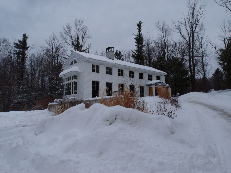 My home in New Hampshire, on February 19, 2014