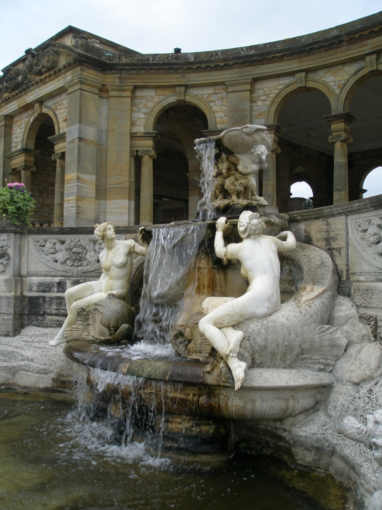The Nymphs' Fountain was made in 1908 by W.S.Frith
