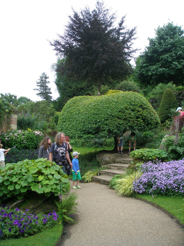Borders adjacent to the Italian Garden