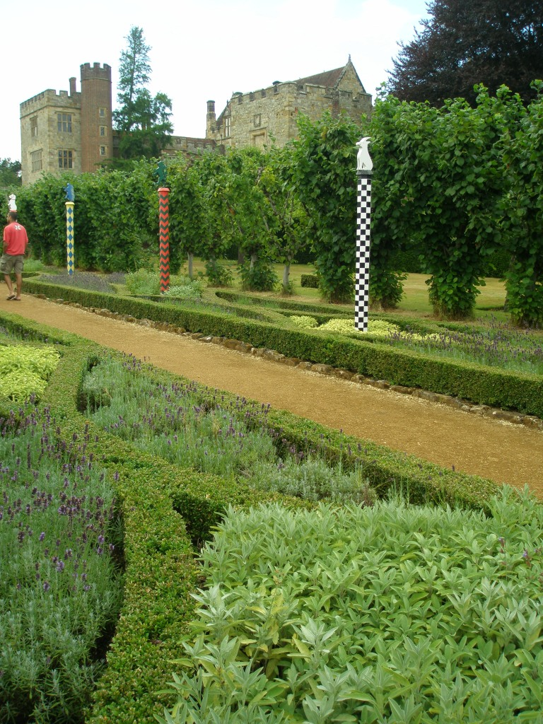 Another view of The Heraldic Garden