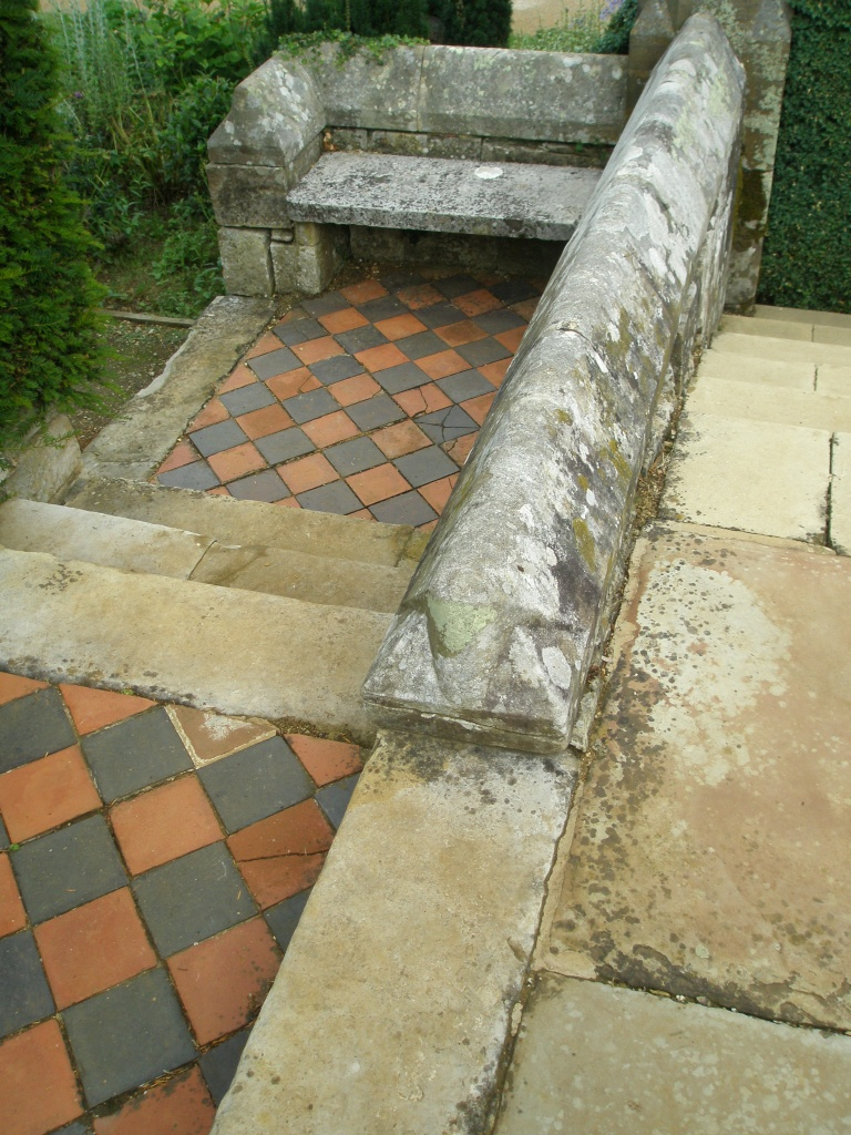 Detail of Paving on the Long Border