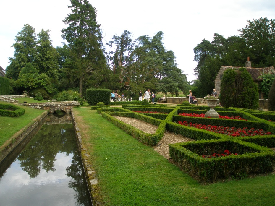 Another view of the Knot Garden