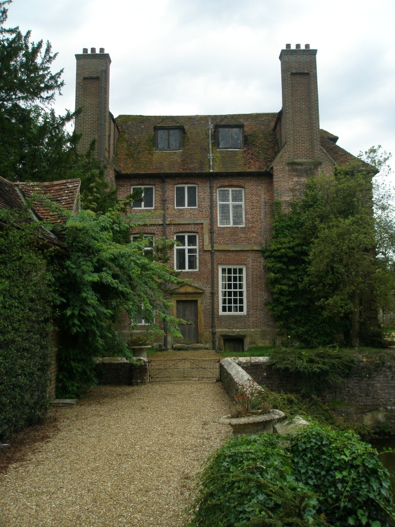 View of the House, over the Side Bridge