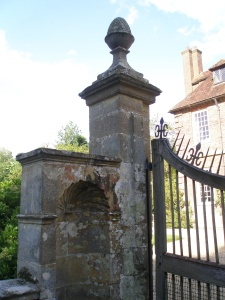 Front Gate Post