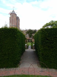 View from the Rose Garden, toward the Tower Lawn