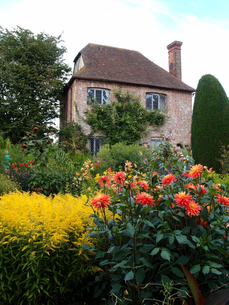 We're in the Cottage Garden. The South Cottage is a fragment of the Elizabeth complex of buildings.