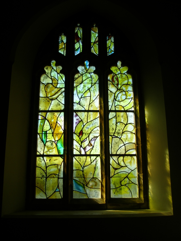 Windows by March Chagall, at All Saints Church