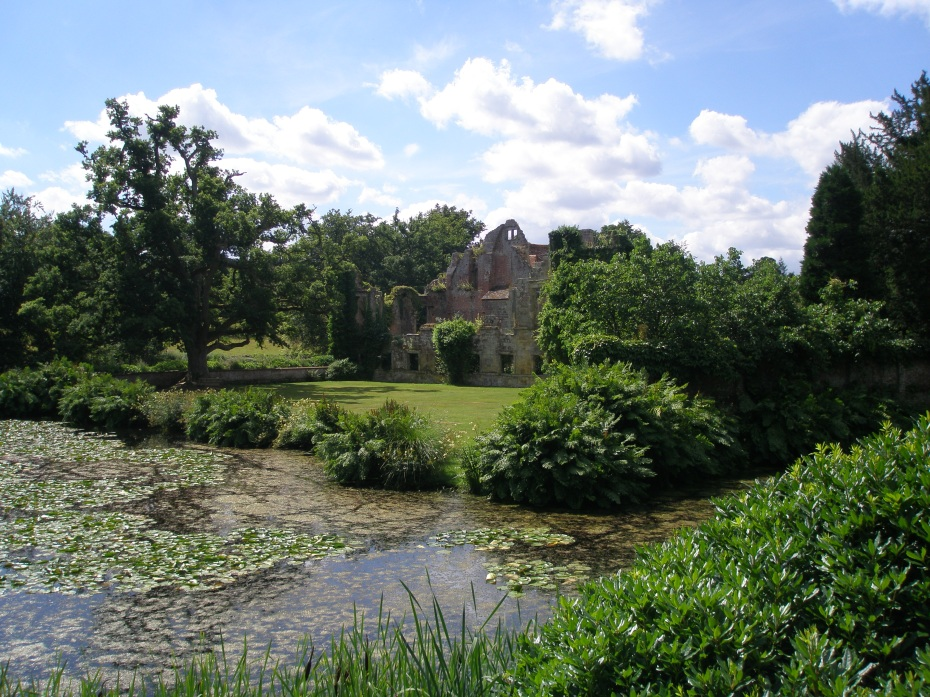 A view of the Old Castle, from near the Ice House