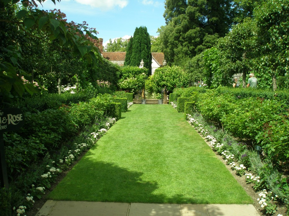 The Rose Garden, within the Walled Garden