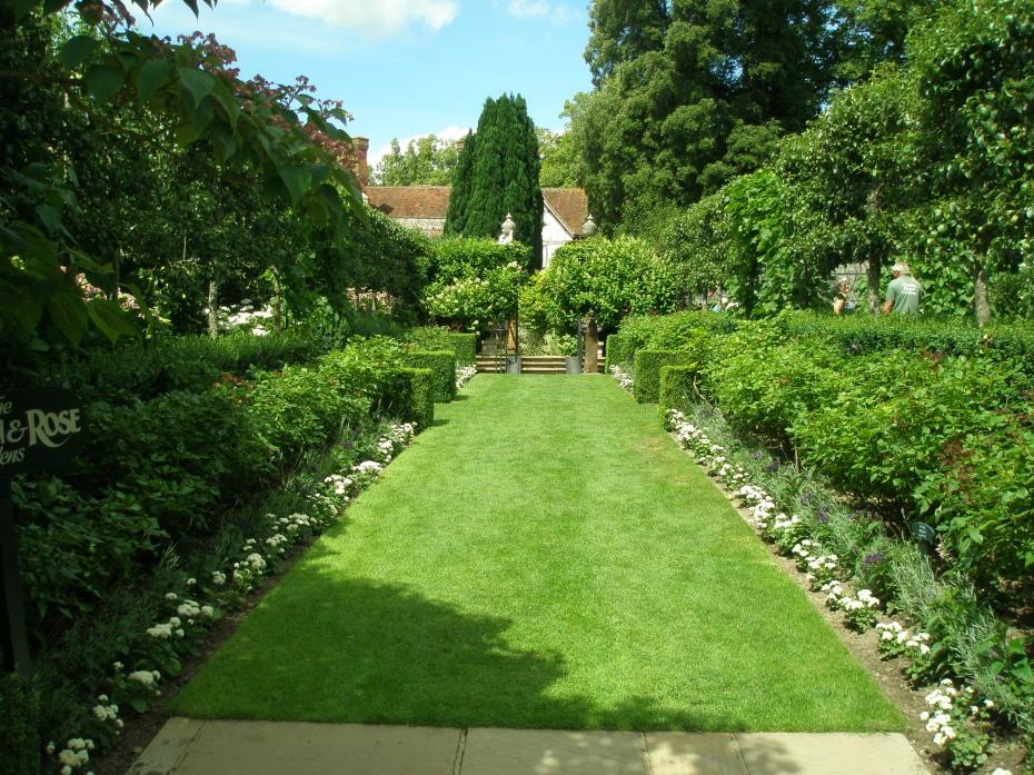 The Rose Garden, within the Walled Garden