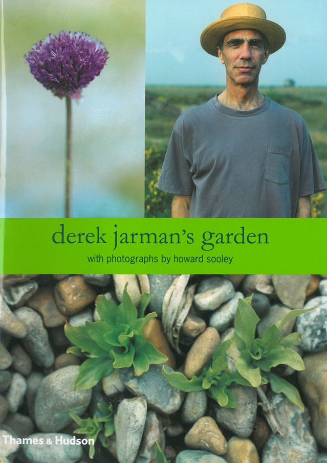 Derek Jarman was an English film director, stage designer, painter, gardener and author (born 1942, died 1994). This is the front cover of the last book that Jarman wrote, before his untimely demise from AIDS. Image courtesy of Estate of Derek Jarman.