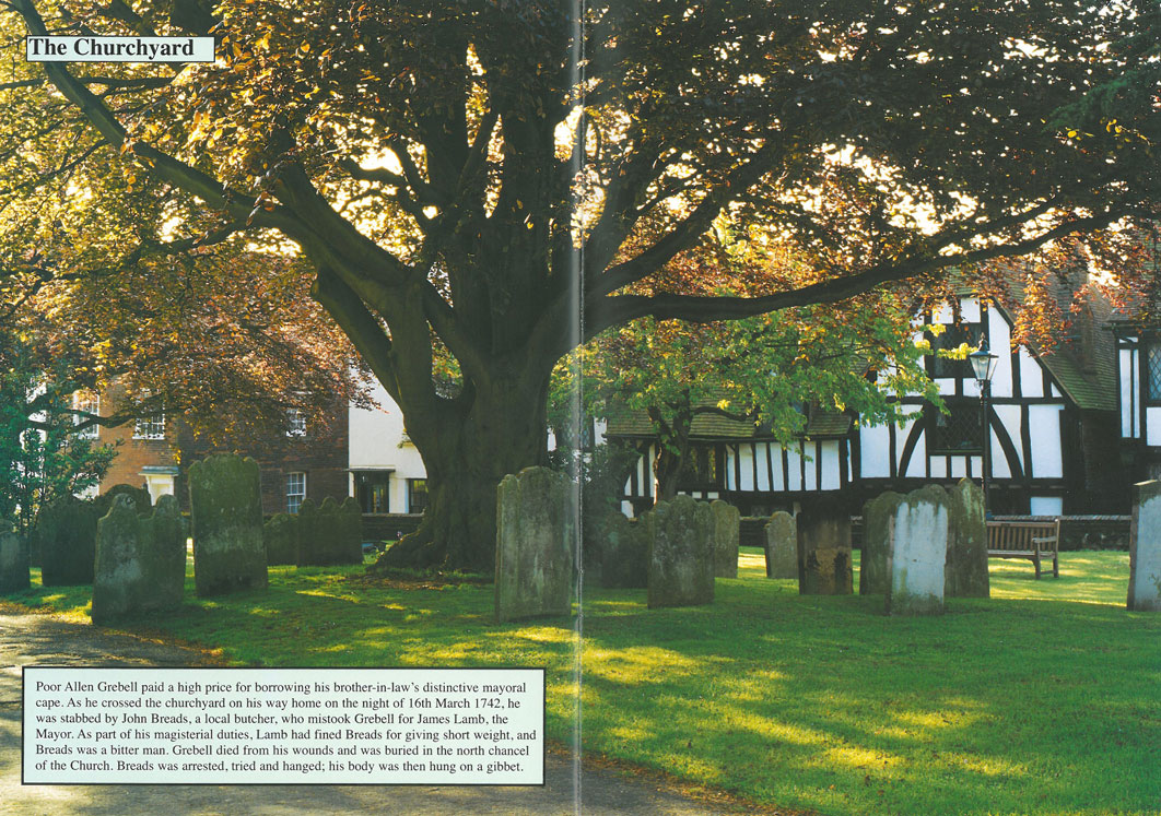 The Churchyard is on the highest part of Rye's Conduit Hill. Image courtesy of Ann Lockhart.