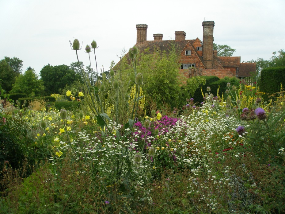 A view of the house, from the High Garden