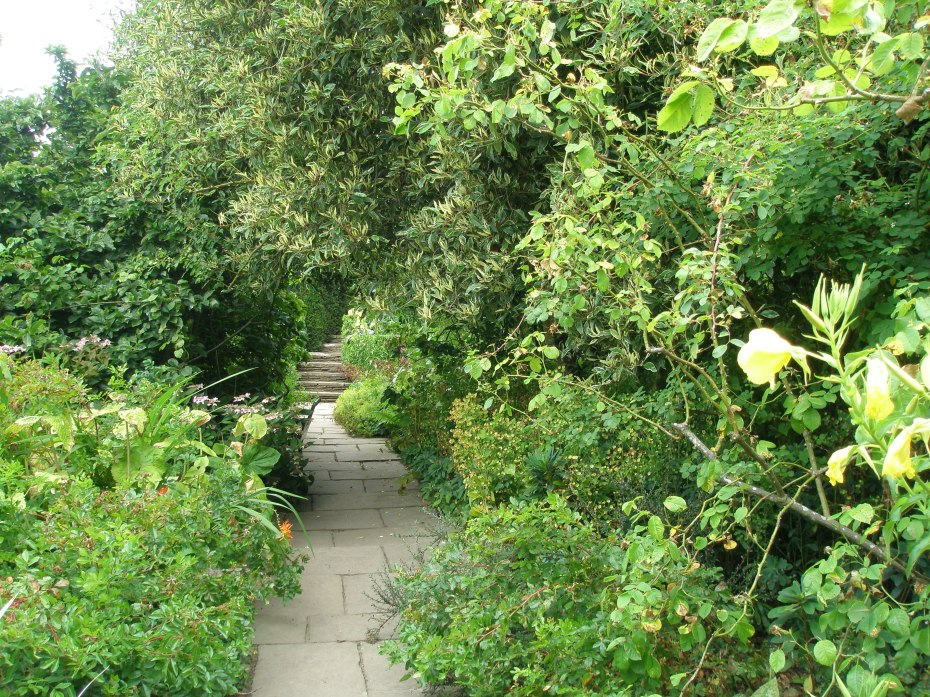 We then wended our way toward the extensive gardens that are behind the house.