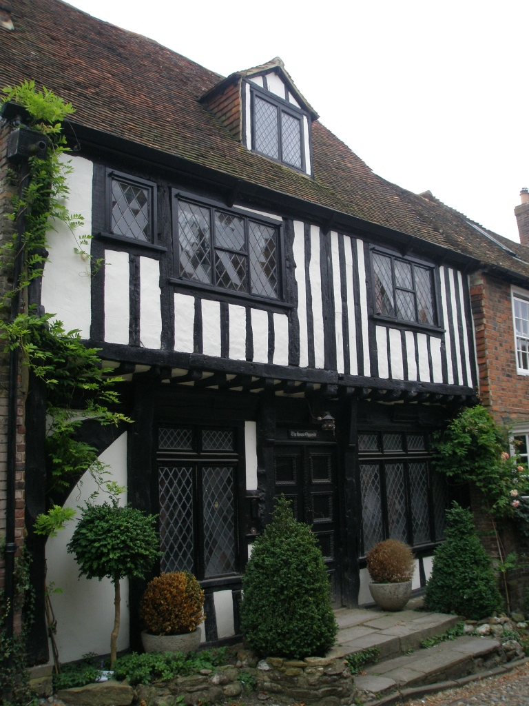 Yet another of Rye's charming homes, across the Street from the Mermaid Inn.