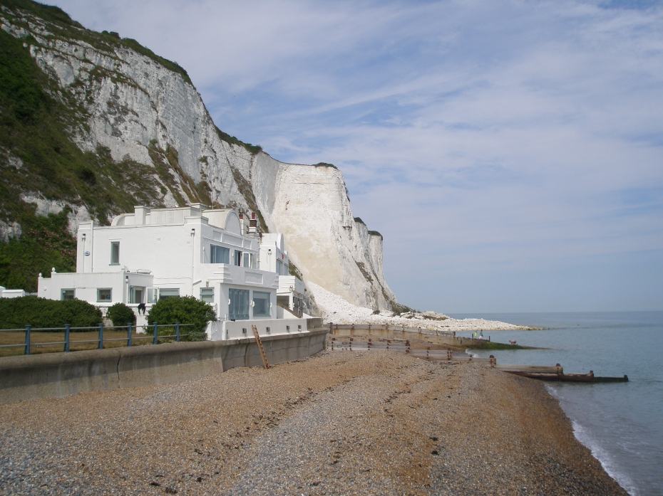 It's August 8, 2013, and we're at the Edge of England! These are the white cliffs of Saint Margaret's-at-Cliffe.