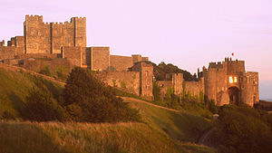 Dover Castle, founded in the 12th century by Henry II, is the largest castle in England.