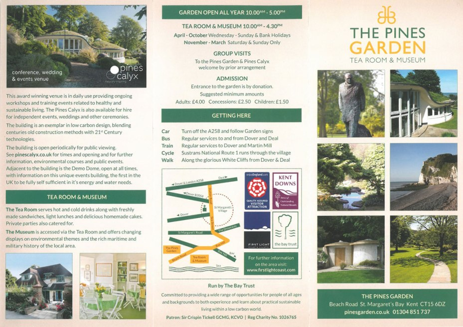 The Pines Garden brochure