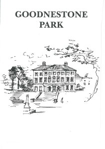 Goodnestone Park Gardens, one of Jane Austen's favorite places to visit in Kent. Image courtesy of Goodnestone Park.