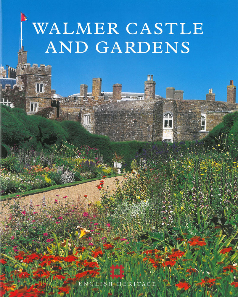 Walmer Castle (built in 1539) & Gardens, on the English Channel, at Deal. Image courtesy of Walmer Castle.