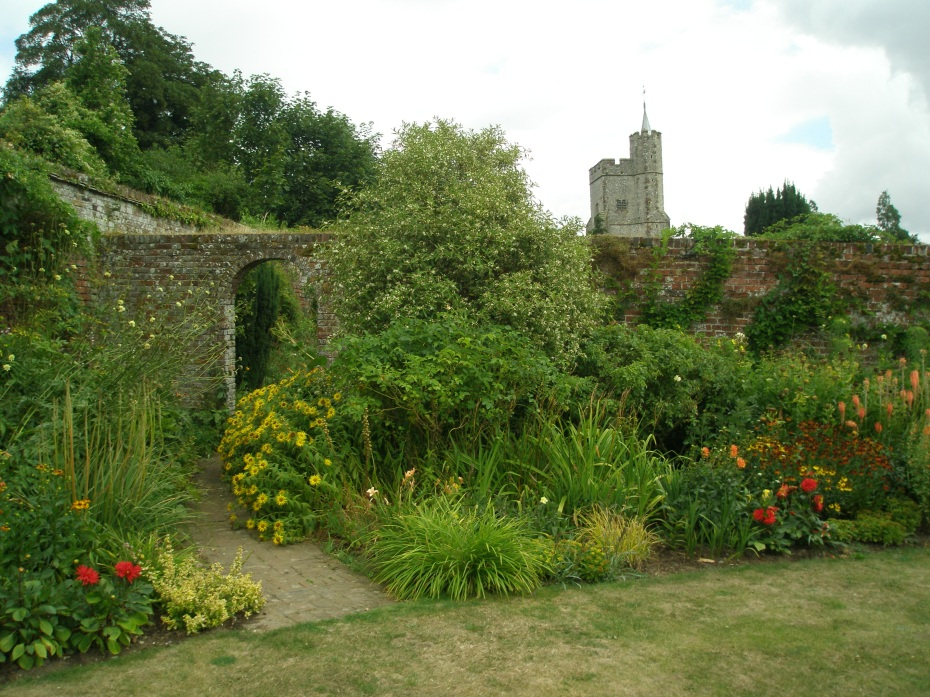 Another corner of the extensive Walled Garden (which is actually a series of walled gardens).