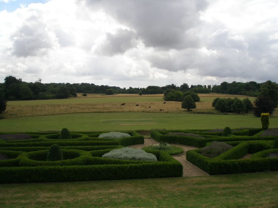 Our perambulations through the gardens at Goodnestone Park at an end, I took this one, last look across the East-Side Parterre. This quiet garden was a hard place to leave....