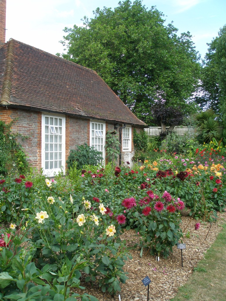 After a fast stop at the Tea Room, where I bought a box of delicious lemon squares, we finished our little Salutation-garden-jaunt with a look at the Kitchen Garden.