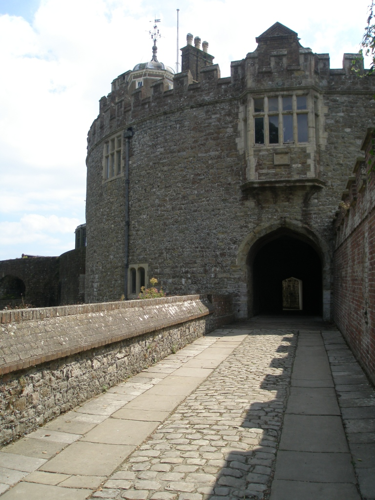 We crossed the Entry Bridge, and headed toward the Gatehouse.