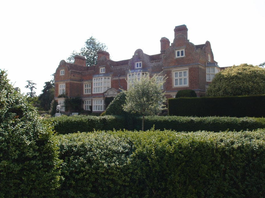 The East Face of the House, seen from within the Pan Garden