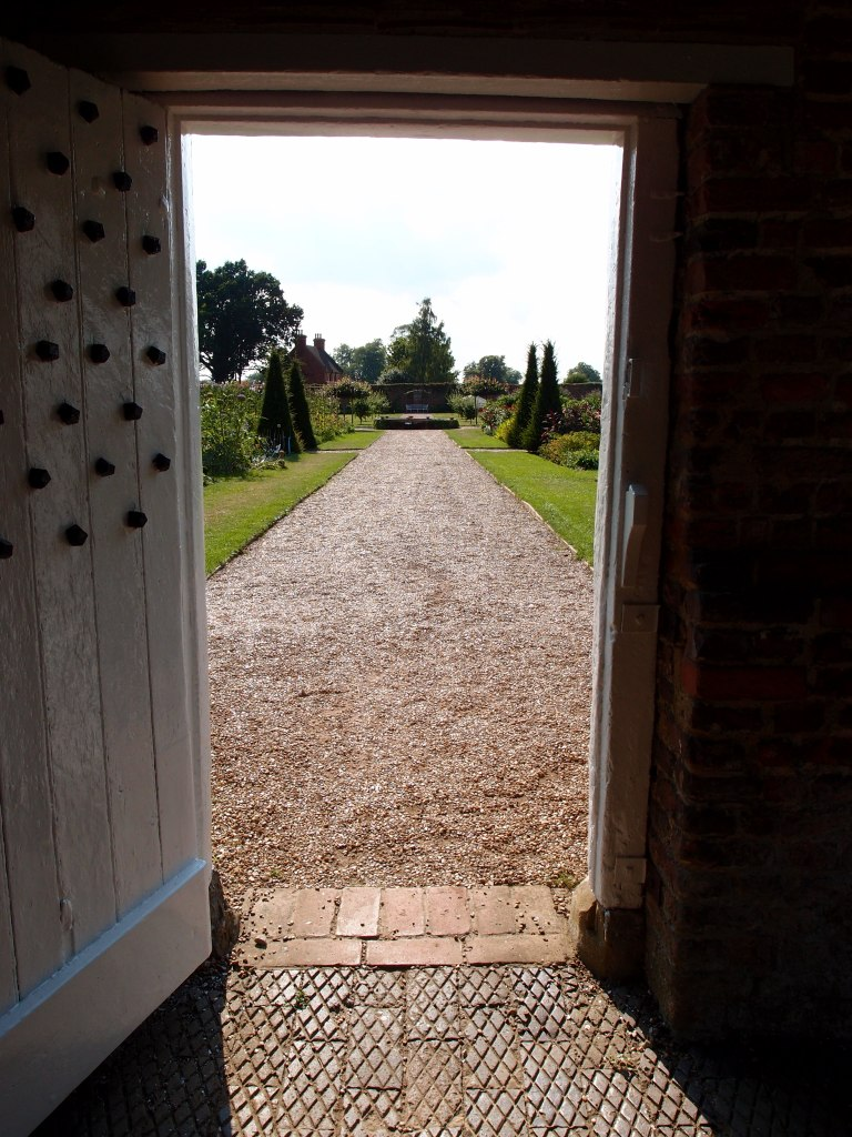 We pass from the Italian Garden, out into the great spaces of the Walled Garden