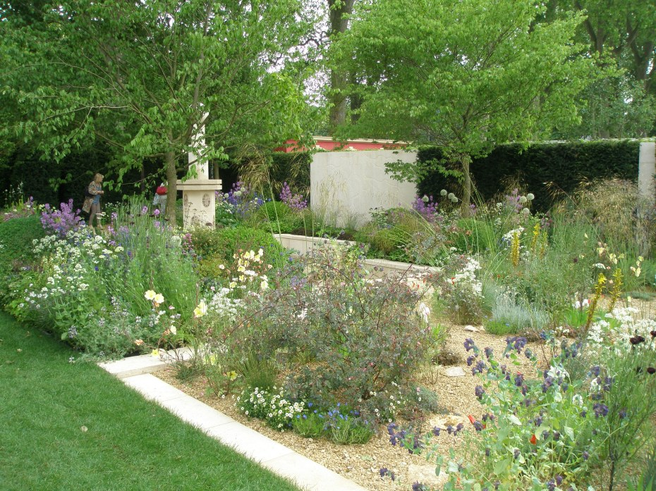The M&G Garden. Given a Gold Medal by the RHS