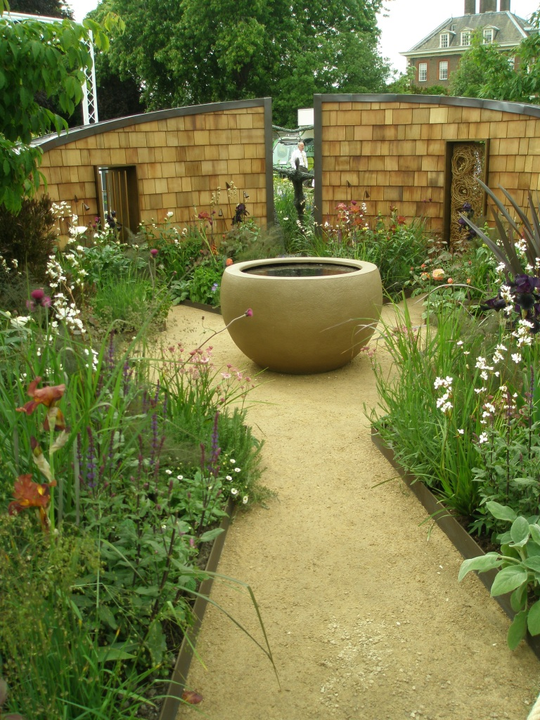The Well Child Garden.  Designed by Olivia Kirk Gardens.