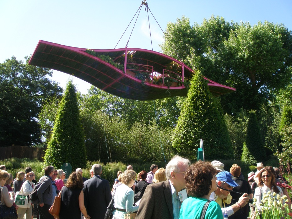 At the Chelsea Flower Show in May 2011