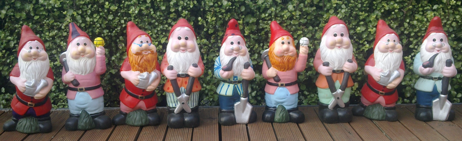 No Gnomes allowed at the Chelsea Flower Show !!!