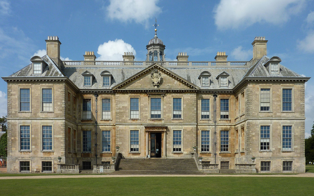 Belton House, in Lincolnshire, England, is one of the finest examples of the Restoration, or Carolean, style of architecture, which flowered from 1660 until 1680.