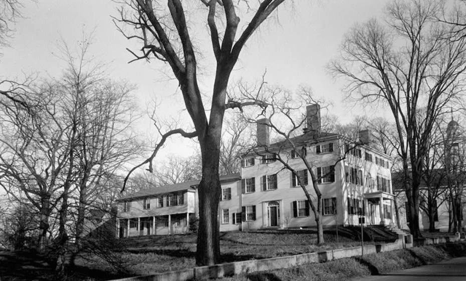 Heard House, circa 1940. When Mr. Heard's home became too small for his family, additional rooms were constructed to the rear of the main building.