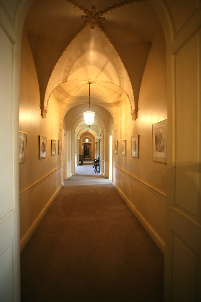 My first view of the Second Floor's Main Hallway