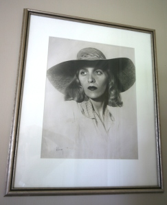 Glam-photo of Florence, in her 20s.
