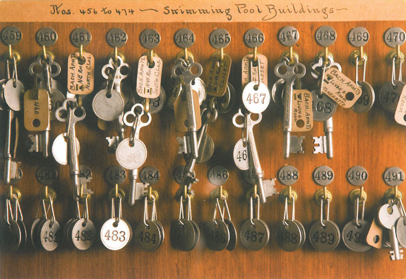 A closer look at some of the Butler's Keys. Image courtesy of the Trustees of Reservations.