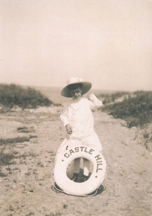 Cornelius Crane, in 1911, on Crane Beach. Image courtesy of the Trustees of Reservations.