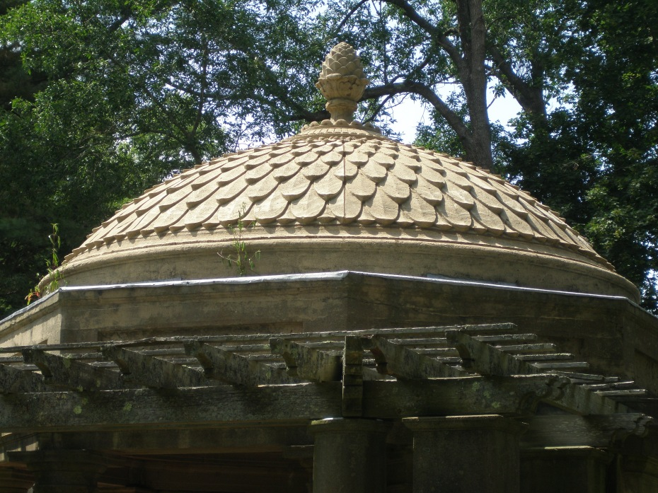 Detail of Tea House roof