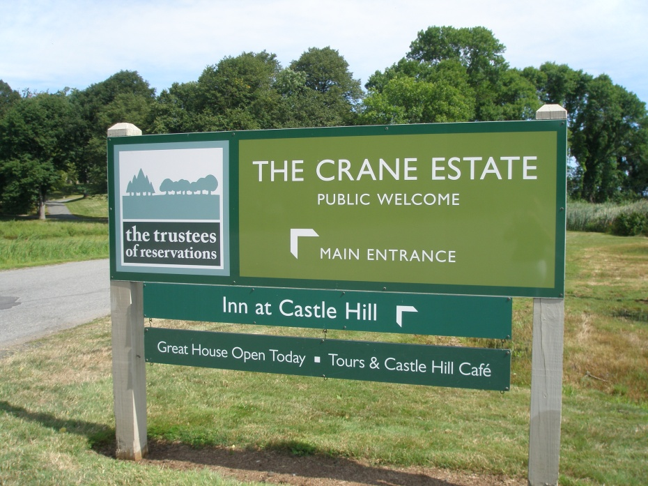The Argilla Road entrance to the Crane Estate