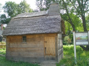 Directly across South Main Street from the Heard House is this reproduction of a 1657 house, built during the First Period. This structure is also part of the Ipswich Historical Society's complex of buildings.